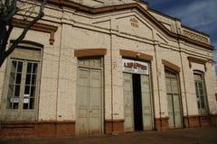 Historisk byggnad i Argentina Fotografering för Bildbyråer