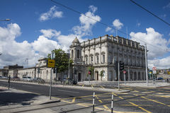 Historisk byggnad i Dublin Royaltyfria Bilder