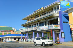 Historisk byggnad i George Town, Caymanöarna Royaltyfria Foton