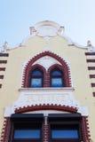 Historisk byggnad i Heerlen, Nederländerna Royaltyfri Bild