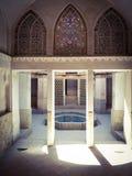 Historisk byggnad i Iran Royaltyfri Fotografi
