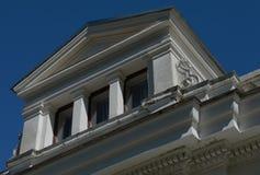Historisk byggnad i Litauen Royaltyfria Bilder