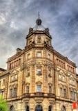 Historisk byggnad i mitten av Glasgow Royaltyfri Foto
