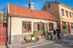 Historisk byggnad i Norrkoping, Sverige Arkivbild