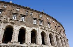 Historisk byggnad i Rome Arkivfoton