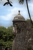 Historisk byggnad i San Juan, PR Arkivfoto