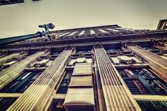 Historisk byggnad i i stadens centrum Los Angeles Fotografering för Bildbyråer