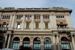 Historisk byggnad i Treviso i Venetoen (Italien) Royaltyfria Foton