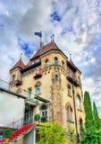 Historisk byggnad i Tubingen - Baden Wurttemberg, Tyskland Royaltyfri Bild