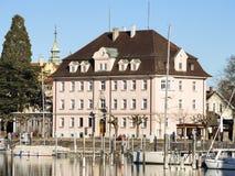 Historisk byggnad Lindau Fotografering för Bildbyråer