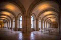 Historisk byggnad vände in i museum arkivfoton