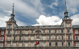 historisk byggnadsfacade Royaltyfri Bild