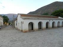 Historisk cabildo Purmamarca Arkivbilder