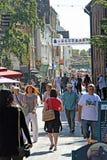 Historisk canterbury storgatan royaltyfri bild