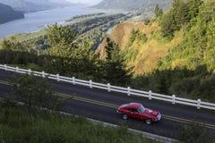 Historisk Columbia River huvudväg, Oregon Fotografering för Bildbyråer
