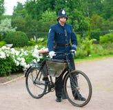 Historisk cykelritt fotografering för bildbyråer