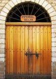 historisk dörr Royaltyfri Bild