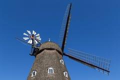 Historisk dansk väderkvarn Royaltyfri Foto