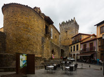 Historisk del av Salas med fortness grensle arkivbilder