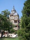 historisk domstolsbyggnad 1190 Arkivfoton