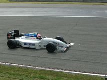 Historisk F1 Tyrrel 022 Monza 2012 Arkivbild
