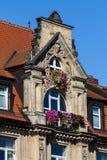 Historisk fasad - Bayreuth arkivfoton