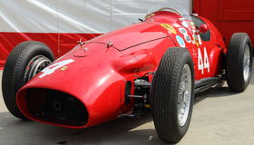 Historisk Ferrari grand prixbil Royaltyfri Foto