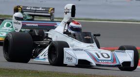 Historisk formel 1, Silverstone klassiker Royaltyfri Foto