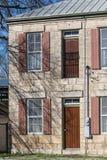 Historisk Gass Schmiede byggnad i komfort Texas royaltyfria bilder
