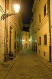 historisk gata Fotografering för Bildbyråer