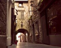 Historisk gata Kilkenny Irland Fotografering för Bildbyråer