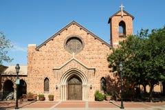 Historisk Glendale Arizona metodistepiskopalkyrkan Arkivbilder