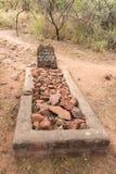Historisk grav nedanför den Waterberg platån Royaltyfria Foton