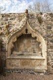 Historisk gravvalv på Fordyce Kirk i Aberdeenshire Royaltyfria Foton