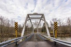 Historisk Grimms bro - Ohio Arkivbild