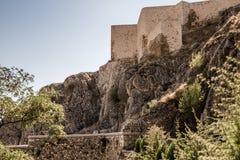 Historisk Harput slott i Elazig, Turkiet Arkivbilder