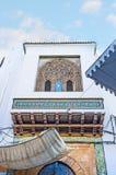 Historisk herrgård i Tunis Medina Arkivbilder