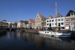Historisk holländsk architectuur Royaltyfri Bild