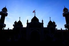 Historisk huvudmoské, Pattani Thailand Arkivbilder