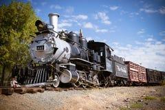 Historisk järnväg Royaltyfri Fotografi
