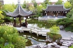 Historisk kinesisk byggnad Arkivfoto