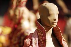 Historisk kineskläder Arkivfoton