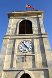 Historisk klocka i Katamonu, Turkiet Royaltyfria Bilder