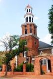 Historisk Kristuskyrka, Alexandria, Virginia Royaltyfri Foto