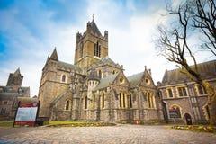 Kristus kyrkliga Irland Royaltyfria Bilder