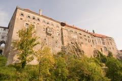 historisk krumlov för cesky stad Arkivbild