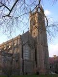Historisk kyrka Fotografering för Bildbyråer