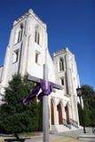Historisk kyrka Arkivbild