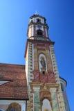 Historisk kyrka i Tyskland Arkivfoto