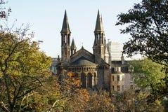 Historisk kyrklig byggnad i Aberdeen, Skottland Royaltyfria Foton